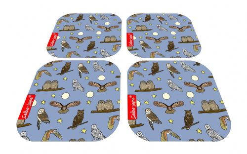 Selina-Jayne Owls Limited Edition Designer Coaster Gift Set